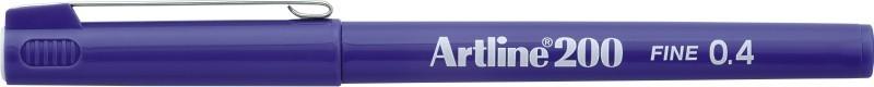Liner ARTLINE 200, varf fetru 0.4mm - violet