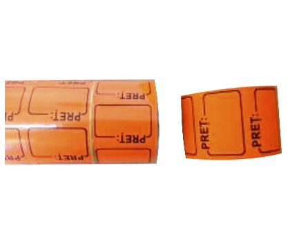 ROLE CU PRET COLOR 300 etichete/rola