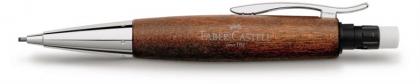Creion Mecanic 1.4 mm E-Motion Pearwood / Maro Deschis Faber-Castell