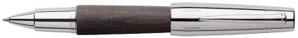 Roller E-Motion Pearwood Negru Faber-Castell