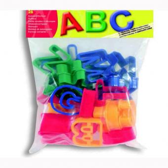 Set cuttere plastic pentru modelaj litere Eberhard Faber
