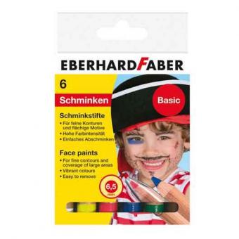 Set 6 Buc Pictura Fata Basic Eberhard Faber