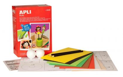Kit Apli pentru crearea papusilor Scufita Rosie si Peter Pan