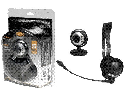 CAMERA WEB+CASCA STEREO COMUNICATION DUO MT4024, MEDIA-TECH