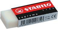 Radiera Stabilo Supreme 1196, 62 x 22 x 11 mm