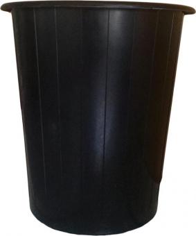 Cos hartie Tami, 14 litri, neperforat, negru