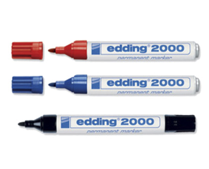 PERMANENT MARKER EDDING 2000, 1,5-3 mm