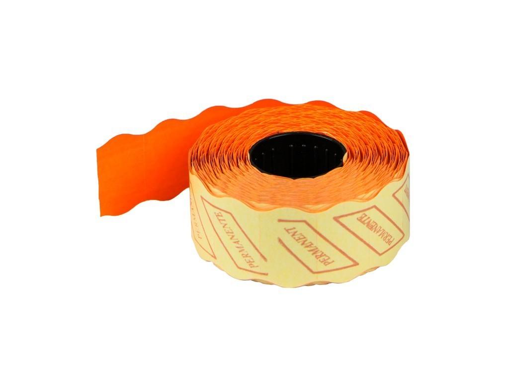 ETICHETE PRET 26x16 mm, 1000 buc/rola, ROSU