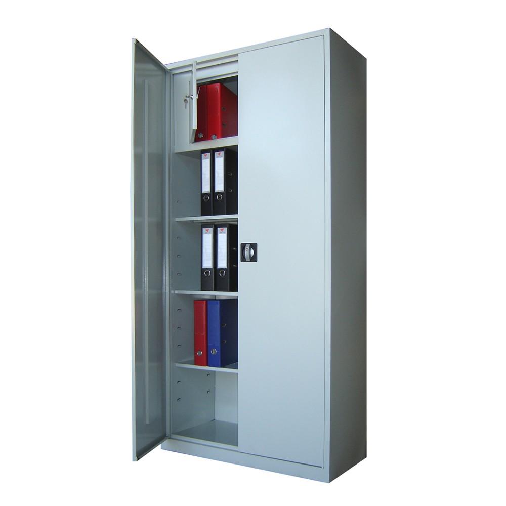 DULAP METALIC CU 3 RAFTURI SI SEIF 900x400x1900 mm (LxlxH), 35 kg/polita, ECO
