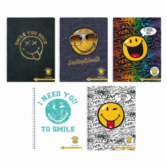 CAIET A4 70F SPIRALA DCTANDO SMILEY WORLD DIVERSE MODELE