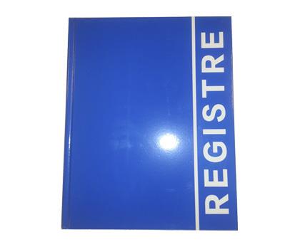 REGISTRU LUX A4, 160 file (coperta carton plastifiat)
