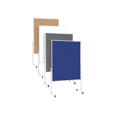 PANOU PREZENTARE MGN MOBIL 1200x1500 mm, dubla fata albastra, 2111103