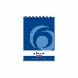 BLOC NOTES A6 50F SPIRALA DICTANDO X.BOOK