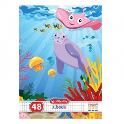 CAIET A5 48 FILE PATRATELE AQUA WORLD