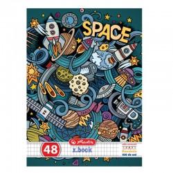CAIET A5 48F PATRATELE SPACE