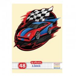 CAIET A5 48 FILE PATRATELE CARS