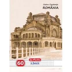 CAIET A4 60 FILE PATRATELE ROMANIA