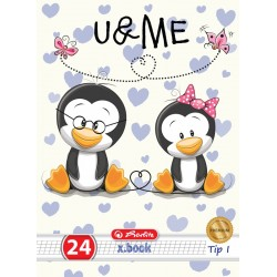 CAIET TIP I A5 24 FILE CUTE ANIMALS PREMIUM