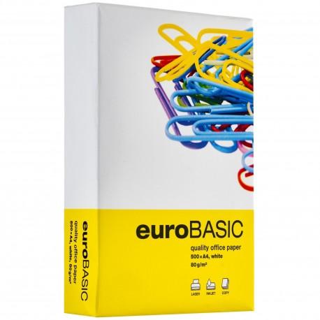 HARTIE COPIATOR EURO BASIC A4, 80 g/mp
