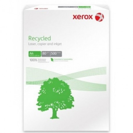 HARTIE XEROX RECYCLED A3, 80 g/mp