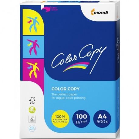 CARTON COLOR COPY A4, 100 g/mp, 500 coli/top