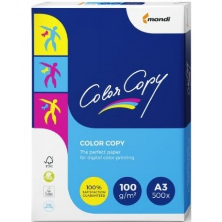 CARTON COLOR COPY A3, 100 g/mp, 500 coli/top
