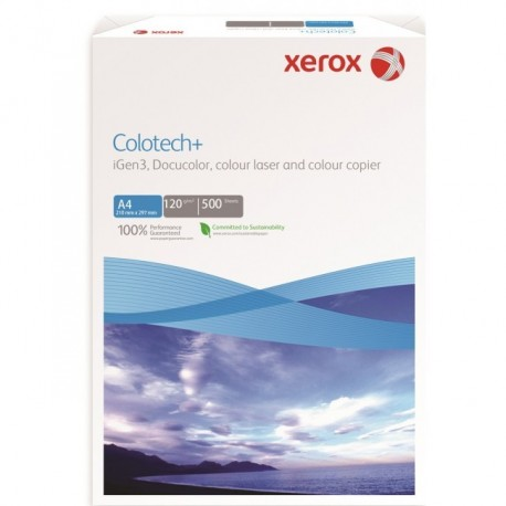 CARTON XEROX COLOTECH+ A4, 120 g/mp, 500 coli/top