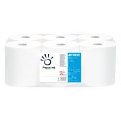 Rola prosop derulare centrala, 2 straturi, portionata, 108m, 6 role/bax, Papernet