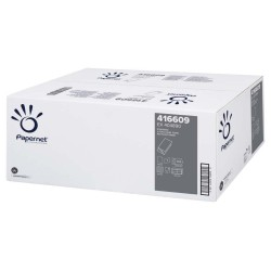 Servetele pliate V verzi 1 strat, 24,5x23cm, 250 buc/pachet, 20 pachete/bax, Papernet