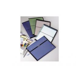 MAPA PLASTIC A4 PT. CONFERINTA CU BLOC NOTES SI ELASTIC, EVO-X8801