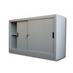 DULAP METALIC CU USI CULISANTE 1 RAFT 1200x450x900 mm (LxlxH), 40 kg/polita, ECO+