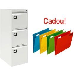 CLASIFICATOR METALIC CU 3 SERTARE X272+CADOU!!! (10 DOSAR SUSPENDABIL ELBA Verticflex)