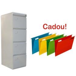 CLASIFICATOR METALIC CU 4 SERTARE ECO+, +CADOU!!! (10 DOSAR SUSPENDABIL ELBA Verticflex)