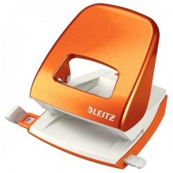 Perforator metalic, 30 coli, LEITZ 5008 - portocaliu metalizat
