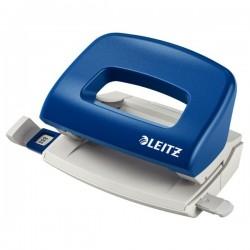 Perforator 10 coli, LEITZ 5058 - albastru