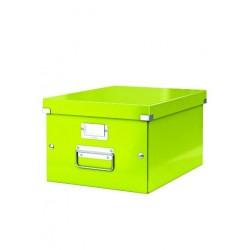 Cutie arhivare 281 x 200 x 369 mm, LEITZ Click & Store, carton laminat - verde