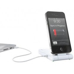 Incarcator LEITZ Complete, 3 ?n 1 pentru iPhone 4/4S - alb