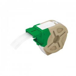 Cartus inteligent cu etichete de plastic LEITZ Icon, 12mmx10m, plastic alb, adeziv permanent