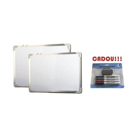 TABLA ALBA MAGNETICA 150x100 cm rama aluminiu + CADOU!!! (SET 4 MARKER WHITEBOARD + BURETE)