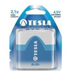 Baterii zinc carbon 3R12, 4,5V, Tesla Blue