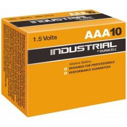 Baterii alkaline R3, AAA, 1.5V, 10 buc/cutie - DURACELL