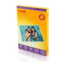 HARTIE FOTO KODAK 200 g, 10x15cm, High Glossy, 50 coli