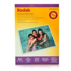HARTIE FOTO KODAK, 200 g, A4 High Glossy, 20 coli