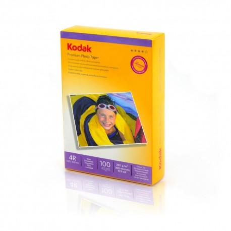 HARTIE FOTO KODAK, 230 g, 10x15cm, High Glossy, 100 coli