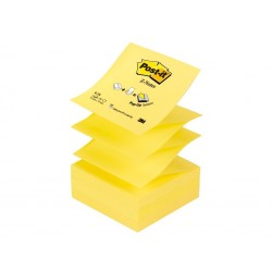 "Notes adeziv Post-it® Canary Yellow™ ""Z"""