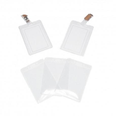 ECUSON VERTICAL PVC (0,35 grosime) 75x105 mm, 100 buc/set