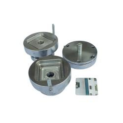 STANTA METALICA PRODUCTIE INSIGNE PATRATE GMD-35S, latura 35 mm