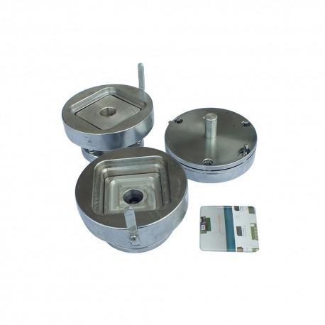 STANTA METALICA PRODUCTIE INSIGNE PATRATE GMD-55S, latura 55 mm
