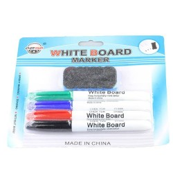SET 4 MARKER WHITEBOARD + BURETE