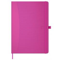 Caiet cu elastic, A5, OXFORD Signature Touch, 80 file-90g/mp, Scribzee comp., dictando - mov
